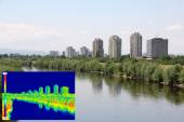 Infrared image panorama of Zagreb — Stock Photo
