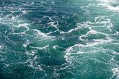 Seawater with Foam — Stock Photo