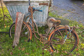 Bicycle, old, rusted — Stock Photo