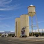 Route 66, Kingman, AZ, USA, water tower — Stock Photo #80080930