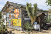 Route 66, Hackberry, Az, oude Alg. pers. — Stockfoto
