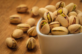 Roasted pistachio nuts seed with shell — Stock Photo