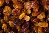 Diet healthy food. Raisin dried grape as background texture — Stock Photo