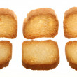 Rusks bread loaf toast biscuits, diet food — Stock Photo #52259553