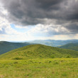 Nature. Green mountain landscape in the summer — Stock Photo #52845513