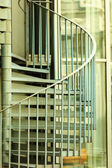 View of a spiral staircase — Stock Photo