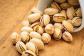 Roasted pistachio nuts seed — Stock Photo