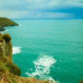 Coastline atlantic ocean coast scenery — Stockfoto