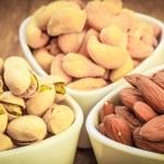 Varieties of nuts — Stock Photo #53776437