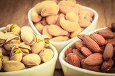 Varieties of nuts — Stock Photo