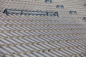 The roofing tiles on house roof — Stock Photo