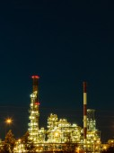 Refinery petrochemical plant — Stockfoto