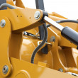 Detail of hydraulic bulldozer — Stock Photo #54220949