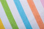 Colorful striped textile — Stock Photo