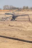 Giant excavator — Stock Photo