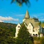 Gamlehaugen mansion old royal palace — Stock Photo #54328711