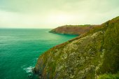 Coastline atlantic ocean — Foto Stock