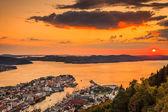 Cityspace of Bergen — Photo