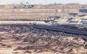 Opencast brown coal mine — Stock Photo