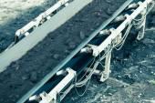 Belt conveyor — Stock Photo