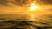 Beautiful seascape at evening — Stock Photo