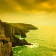 Irish landscape. Coastline atlantic ocean coast scenery. — Stock Photo #57558439
