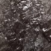 Black bituminous coal, carbon nugget background — Stock Photo