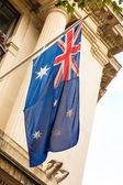 Australian waving flag — Foto de Stock