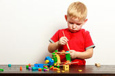 Little boy playing — Stock Photo