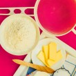 Bake ingredients and  tools — Stock Photo #62114237