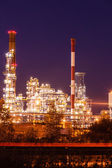 Refinery petrochemical plant — Stock Photo