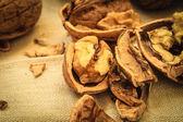Walnut kernels — Stock Photo
