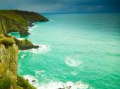 Atlantic ocean coast scenery. — Stock Photo