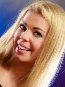 Young woman smiling — Stock Photo