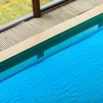 Swimming pool at hotel close up — Stock Photo #68117585