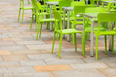Open air cafe — Stock Photo