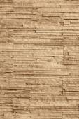 Brown background of brick stone wall texture pattern — Stock Photo
