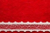 Vintage white lace — Stock Photo