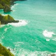 Irish landscape. Coastline atlantic ocean coast scenery. — Stock Photo #71667073