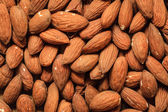 Almonds as food background — Stock Photo
