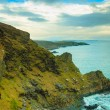 Irish landscape. Coastline atlantic ocean coast scenery. — Stock Photo #71734869