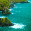 Irish landscape. Coastline atlantic ocean coast scenery. — Stock Photo #71907251