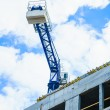 Building construction and crane on sky background — Stock Photo #72088259