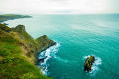 Coastline atlantic ocean coast scenery. — Stock Photo