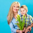 Boy celebrating mother's day — Stock Photo #72790371
