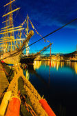 Tall Ships Races in harbour on July 26, 2014 in Bergen, Norway. — Stock fotografie