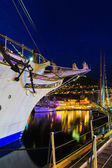 Navires participant à des courses grands navires — Photo