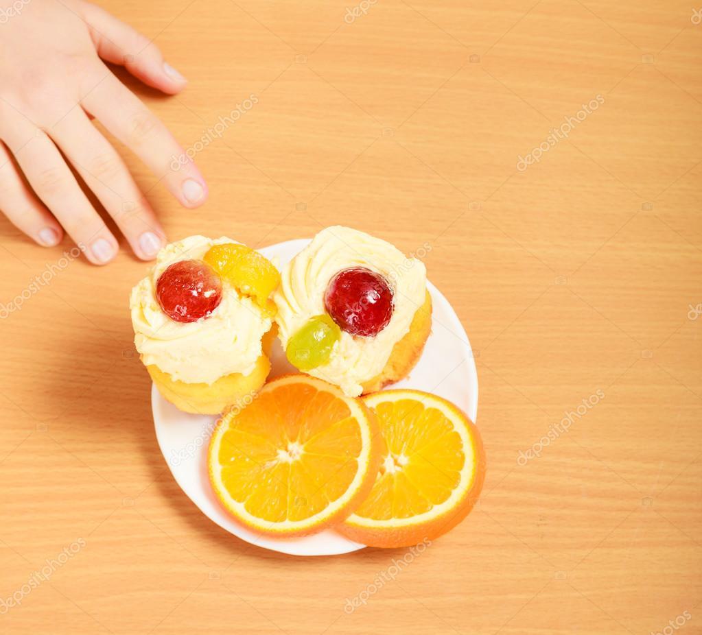 Kuchen zum auf die hand nehmen