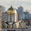 Cathedral of Christ the Saviour, Moscow, Russia — Stock Photo #72668805