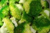 Broccoli on white background — Stock Photo